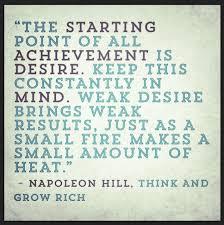 Desire starting point