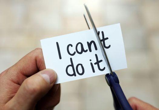 i cant do it mindset