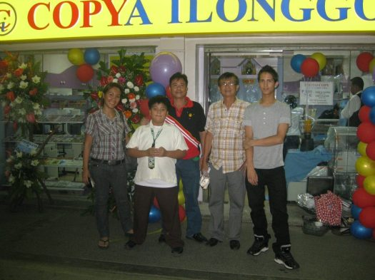 Inauguration of copya ilonggo branch